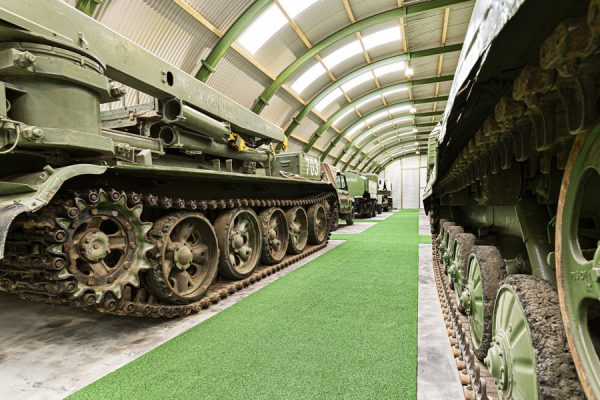 Panzer im NVA Museum Rügen in Prora