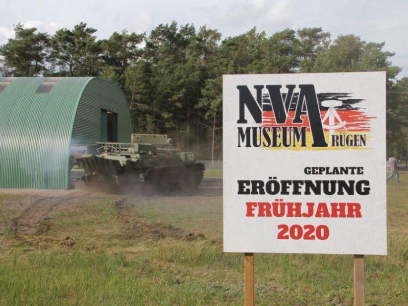 Eröffnung vom NVA Museum Rügen in Prora im frühjahr 2020