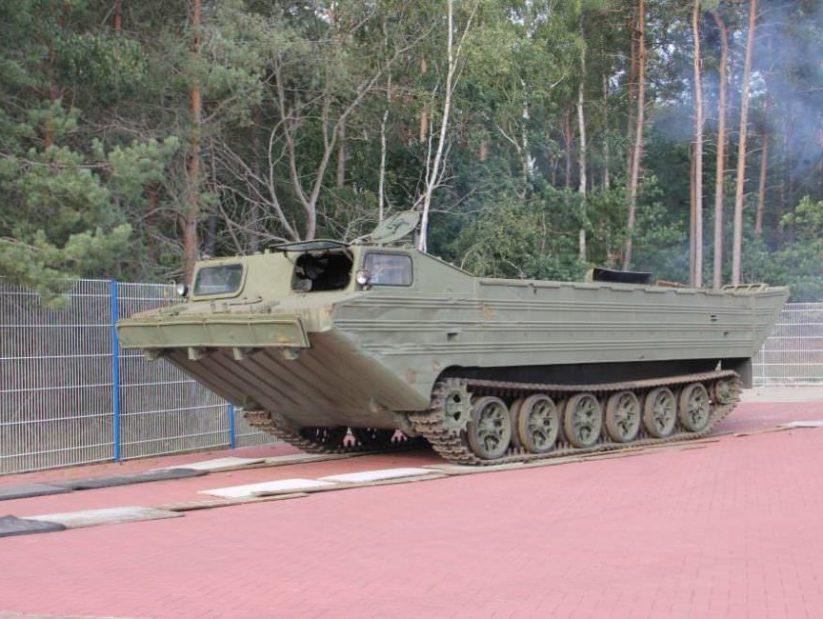 Panzerfähre im NVA Museum Rügen in Prora
